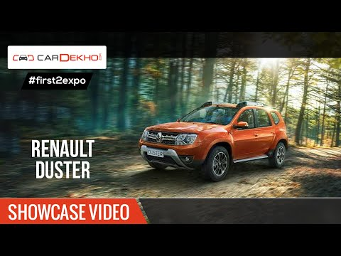 #first2expo | 2016 Renault Duster | Showcase Video @AutoExpo2016