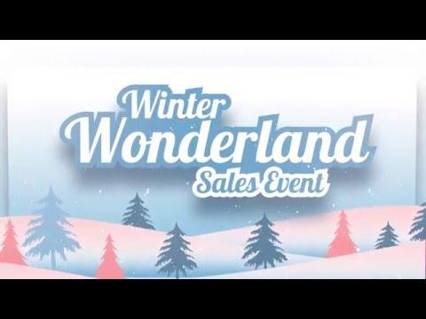Winter Wonderland Sales Event