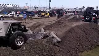 Jeep Beach 2014- Jeep Only Club Daytona Speedway (HD)
