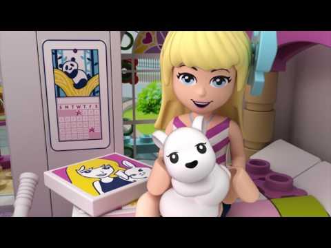 Vidéo LEGO Friends 41314 : La maison de Stéphanie