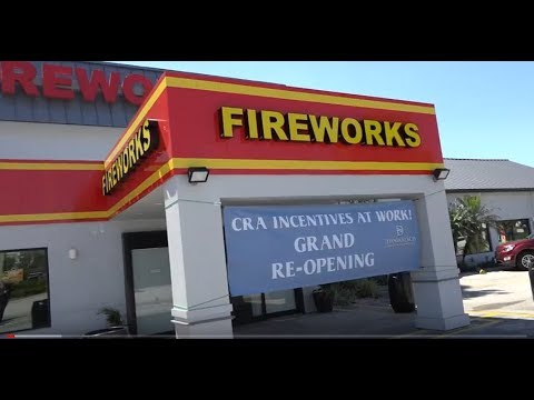 TNT Fireworks Grand Reopening - Dania Beach CRA Grant Mp3