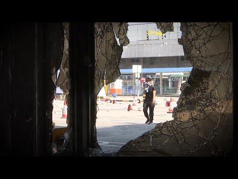 Συνεχίζεται η κατάληψη στο πολυτεχνείο του Χονγκ Κονγκ…