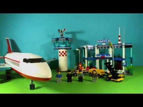 Vidéo LEGO City 3182 : L'aéroport