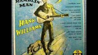 MY  HEART  WOULD  KNOW  by  HANK  WILLIAMS