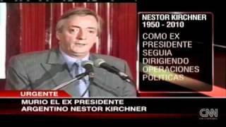 Impacto Politico De La Muerte De Nestor Kirchner  1ra Parte