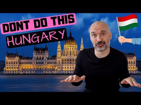 5 THỨ BẠN KHÔNG NÊN LÀM TẠI HUNGARY