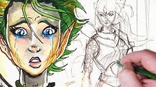 BROKEN ASSASSIN: Character Design Challenge!