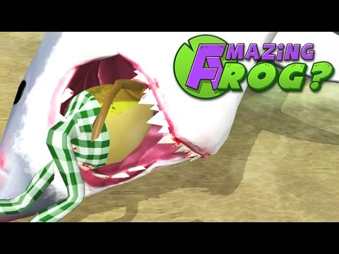 SHARK RODEO CHALLENGE - Amazing Frog - Part 92 | Pungence