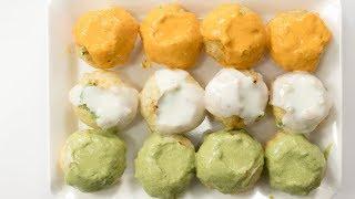 Tiranga Chaat Recipe | Indian Independence Day Special Dahi Puri Chat Recipe | Street Food