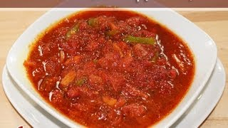 Rhubarb Chutney (Relish) Recipe by Manjula