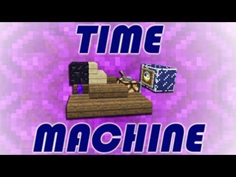 как сделать в майнкрафте машину времени без модов #3