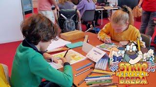 Stripfestival Breda 2019 met het NK Striptekenen voor de jeugd