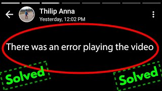 Fix There was an error playing the video in whatsapp status   status video not playing problem fixed