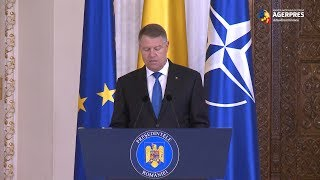 Iohannis: Legea şi independenţa celor care se află în slujba justiţiei nu sunt negociabile