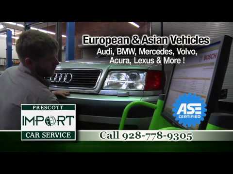Prescott Import Car Service video