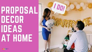 HOW TO | DIY Proposal Decoration Ideas At Home!
