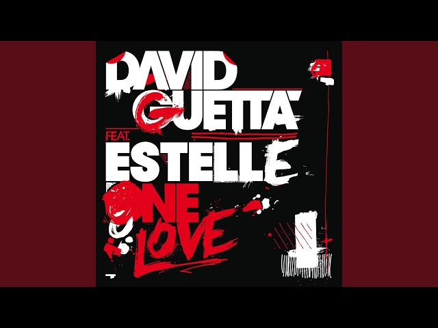 One Love (feat. Estelle) (Chuckie and Fatman Scoop Remix)