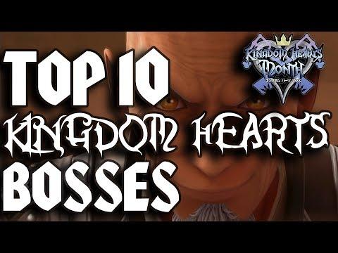 Top Ten Kingdom Hearts Bosses