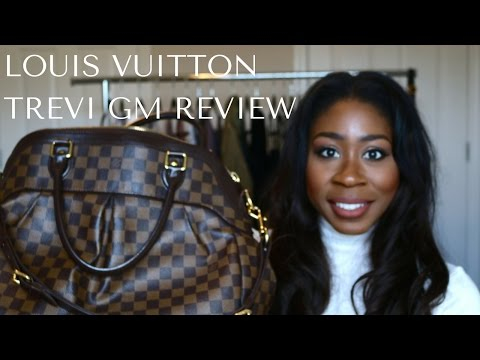 LOUIS VUITTON TREVI GM | REVIEW & WHAT'S IN MY BAG | itsmekatrice