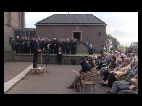 Dodenherdenking 2012, Vierlingsbeek