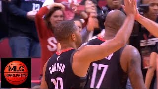 Eric Gordon saves the Rockets with clutch three | Lakers vs Rockets