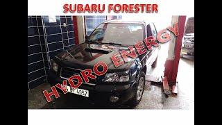 Subaru Forester 2.0 turbo hidrojen yakıt sistem montajı