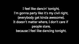 All Time Low- I feel like dancing lyrics