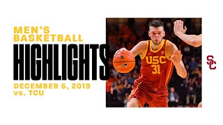 Men's Basketball: USC 80, TCU 78 - Highlights 12/6/19