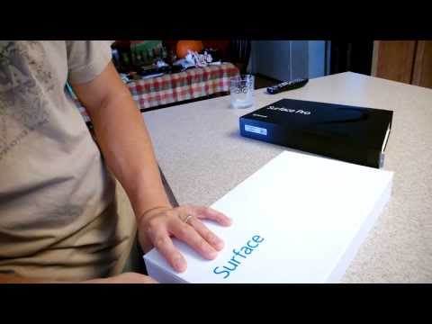 Surface Pro 2 512GB Unboxing