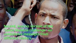 MP Babu Owino sends netizens into a frenzy with his Matiba