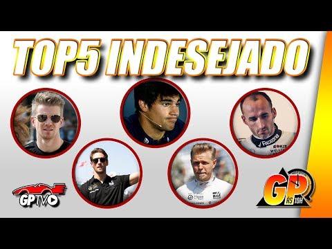 Os cinco pilotos que não merecem estar no grid da F1 | GP às 10