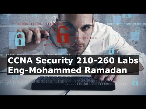 ‪25-CCNA Security 210-260 Labs (Exam lab ASA Config) By Eng-Mohammed Ramadan | Arabic‬‏