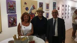 Mehmet Kapçak'ın Nurol Sanat Galerisi'ndeki eserlerinden seçmeler