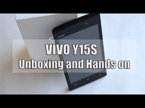VIVO Y15S Unboxing and Hands on !!!!