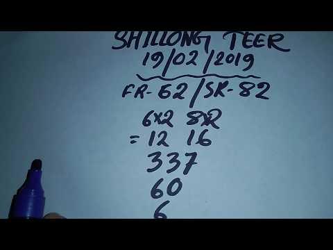 Teer Result 6-2-2019 | Khanapara Teer Result | Shillong Teer