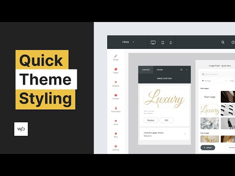 Luxury Theme Styling Tutorial