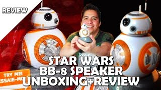 Unboxing - Review Star wars BB 8 Altavoz bluetooth
