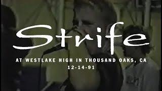 Strife @ Westlake High in Thousand Oaks, CA 12-14-91
