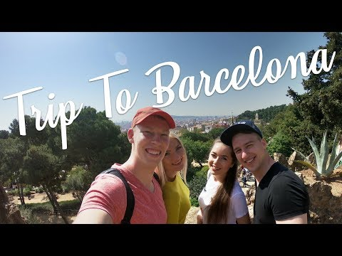 Trip To Barcelona – April, 2018 [4k]
