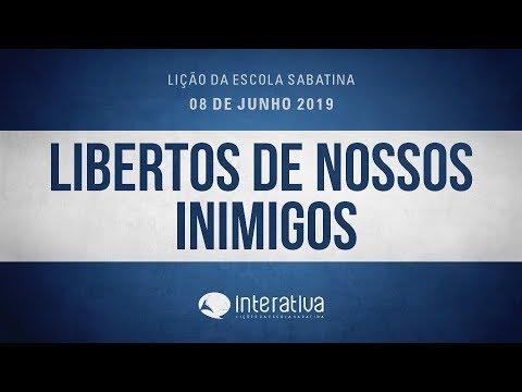 Lição da Escola Sabatina Nº 10 | Libertos de nossos inimigos