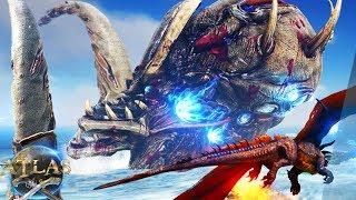 We Beat Atlas.. End Game Kraken Boss Battle! Ghost Pirate Ship - Atlas Gameplay