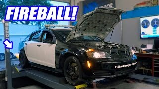Uncle Sam Hits The Dyno With His FIRE Breathing Supercharged Texas Speed 427!