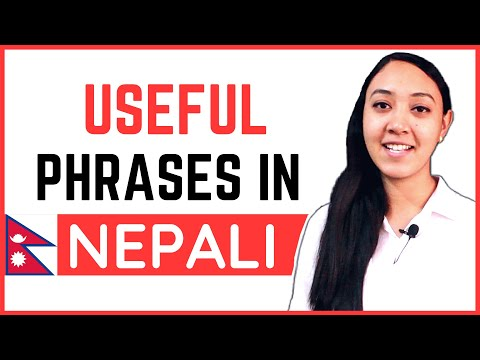 #29 Learn Nepali for Beginners | Common Nepali Phrases used by LOCAL PEOPLE