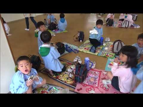 笠間 友部 ともべ幼稚園 子育て情報「はじめてのおにぎりお弁当(年長)」