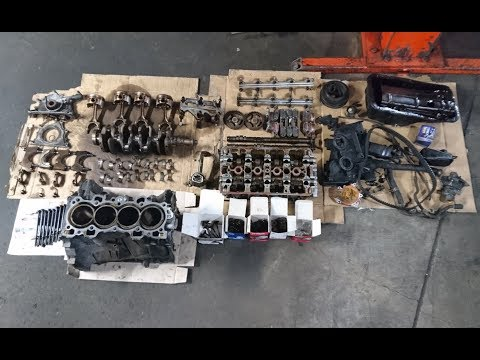 Фото к видео: Honda B18C GSR Rebuild | Ep.2 - Disassembly | Enhanced Motors