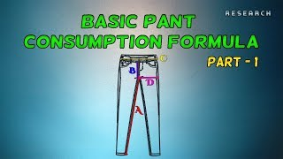 Basic Pant Consumption Formula || Part 1 || Episode 6