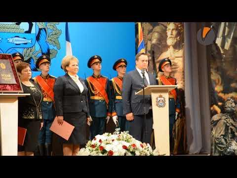 Видео от «ВНовгороде.ру»: Андрей Никитин клянётся верно служить народу