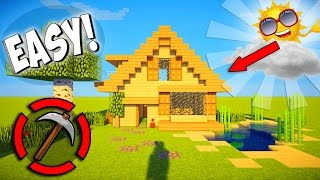 Minecraft How To Build Small Wooden House Minecraftvideos Tv