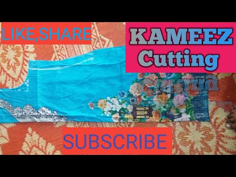 SUITE/KAMEEZ CUTTING IN A VERY EASY METHOD STEP BY STEP