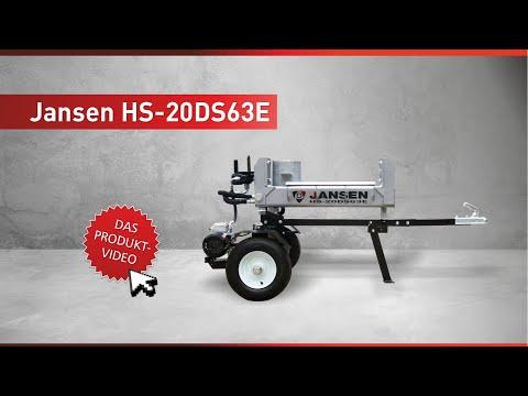 Holzspalter Jansen HS-20DS63E mit Elektromotor